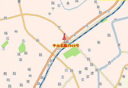 地址:上海市中山北路2918号2502室